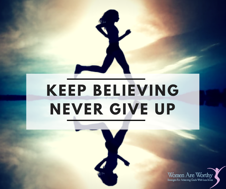 Persistence Motivational Quotes: GIVING UP IS NEVER AN OPTION